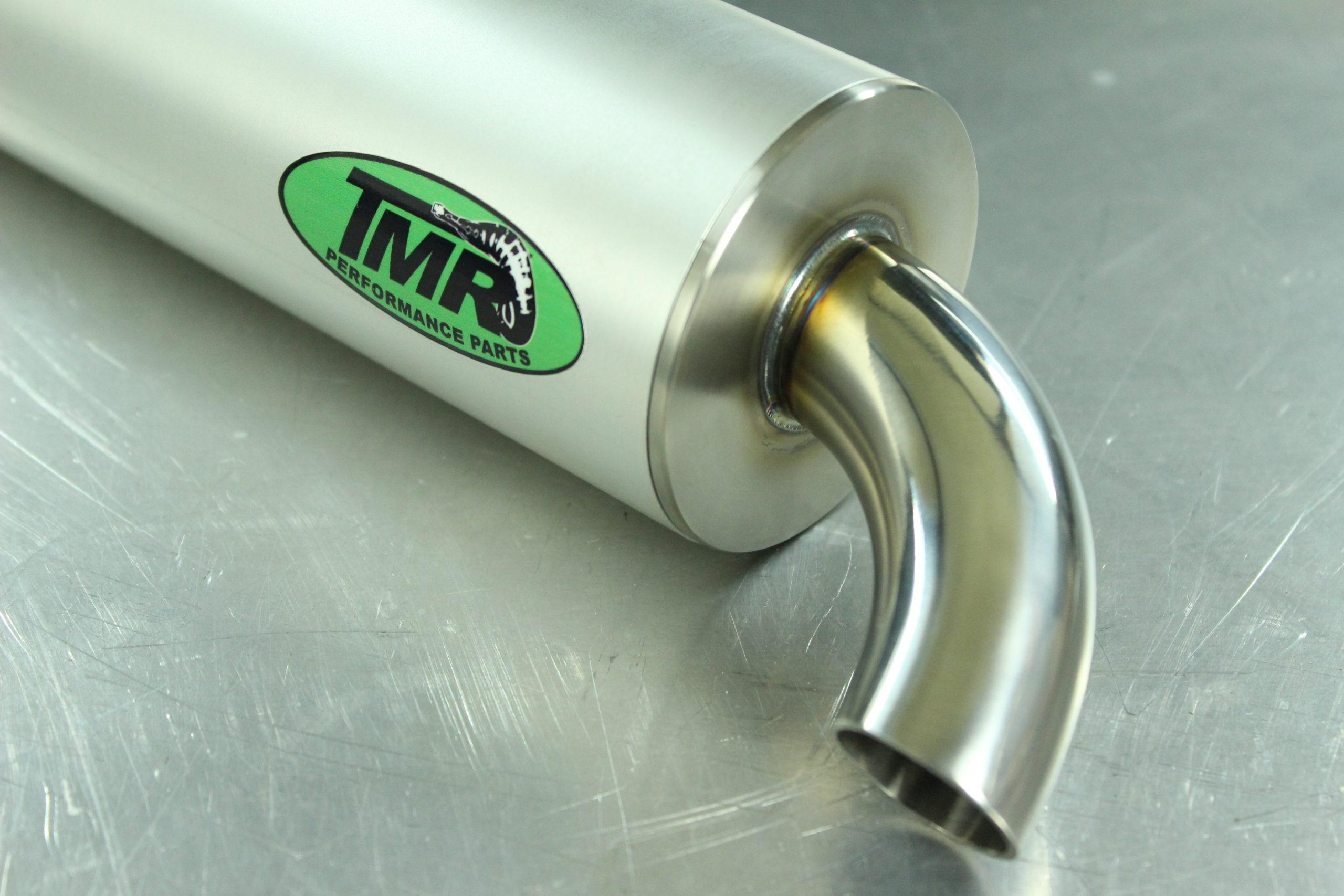 TMR Performance Parts - Endschalldämpfer Endrohr - Gillera Piaggio Maxi Scooter 2