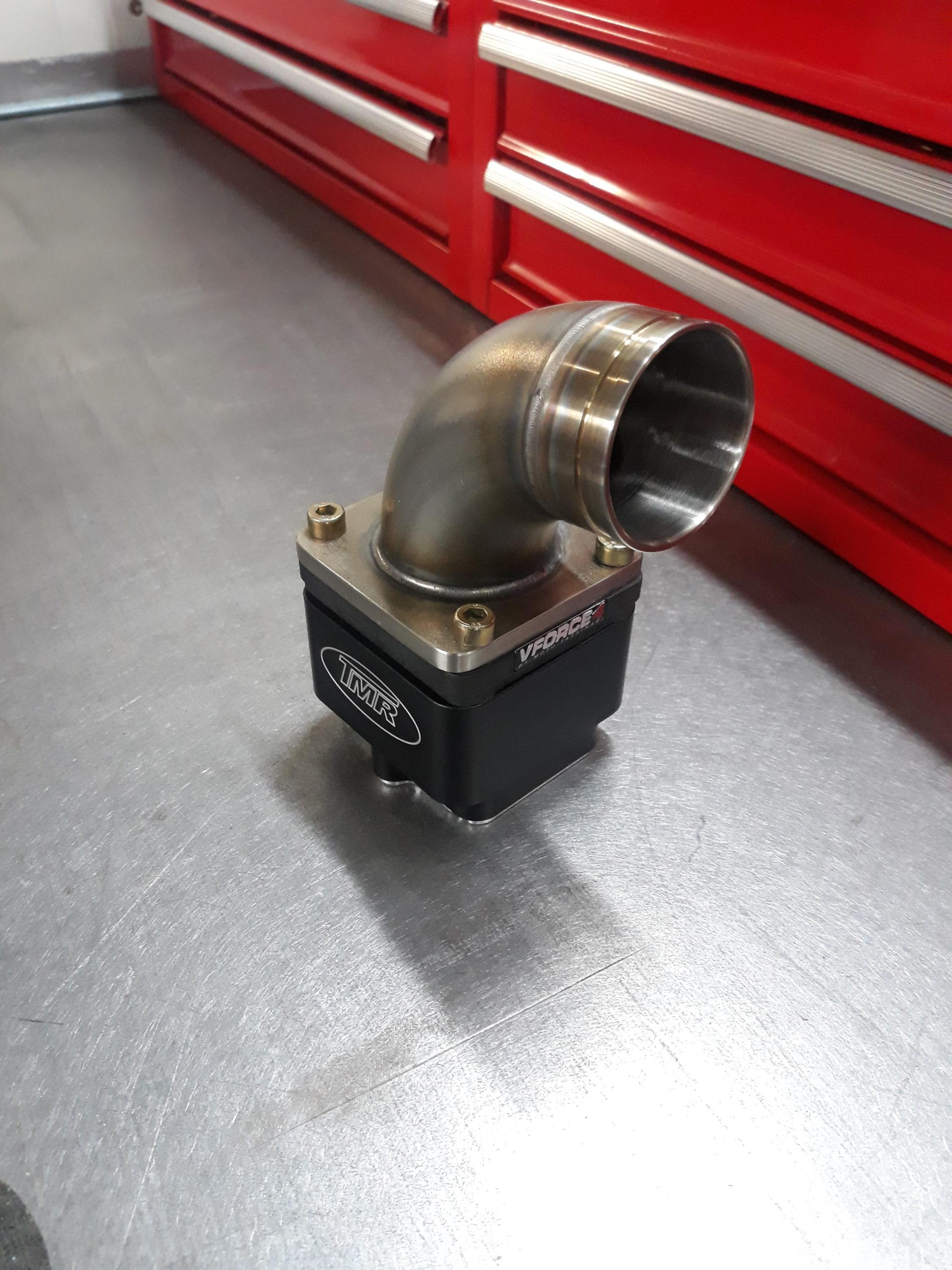 Tmr - Ansaugsystem - Ansaugstutzen-RD350 VForce Vorderansicht 2