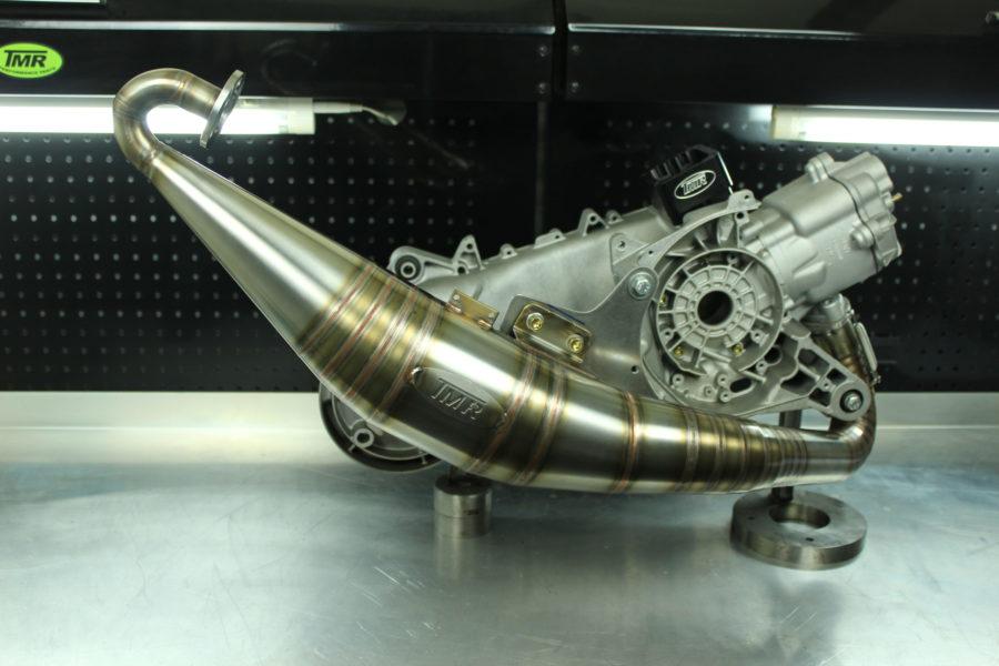 Tmr Performance Parts -Auspuffanlage - Gilera Runner -Draufsicht 1