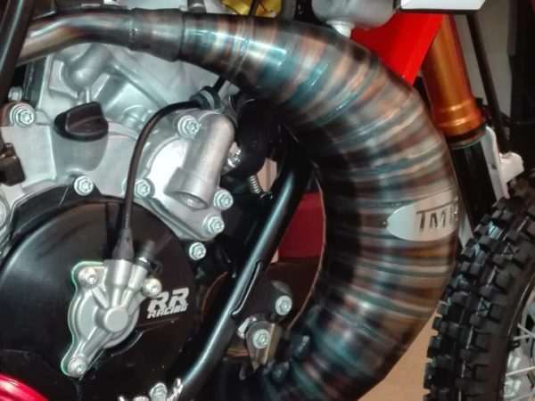 Tmr Performance Parts Ktm Husquarna 65ccm Auspuffanlage ab 2016 Draufsicht 1