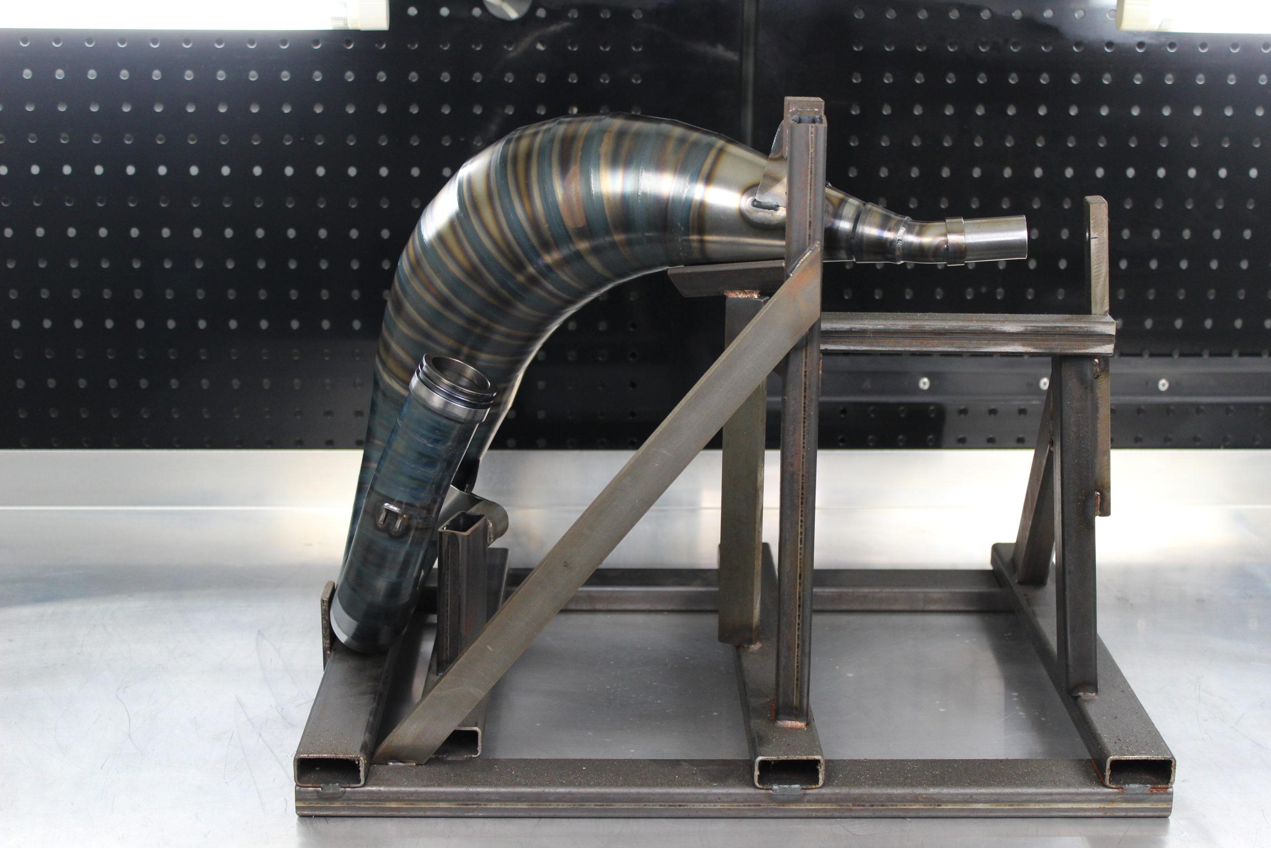 Tmr Performance Parts Ktm Husqvarna 125-150 ccm Auspuffanlage 2016 bis 2018 Ansicht 3