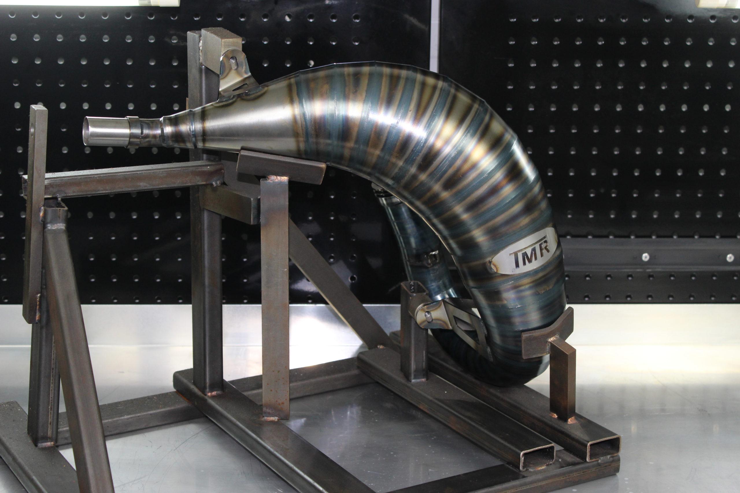 Tmr Performance Parts Ktm Husqvarna 125-150 ccm Auspuffanlage 2016 bis 2018 Ansicht 4