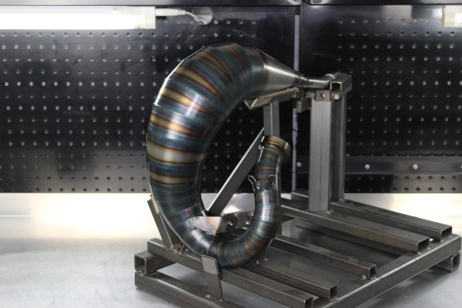 Tmr Performance Parts Ktm Husqvarna 85cc Auspuffanlage bis 2017 Ansicht 2